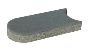 Záhonový obrubník betonový